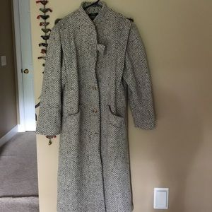 Jackets & Blazers - Vintage 80s wool trench coat
